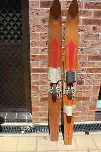 Vintage Fred Williams Wooden Water Ski