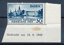 Ungeprüfte Briefmarken aus der französischen Zone (ab 1945) als Einzelmarke