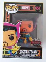 Marvel Doctor Strange Black Light Funko Pop! Vinyl Figure #651 Special Edition