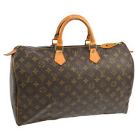 AUTHENTIC LOUIS VUITTON SPEEDY 40 HAND BAG MONOGRAM PURSE M41522 A41173b
