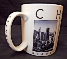 Starbucks 2003 City Scenes Series Chicago Barista Coffee Mug Cup 16 oz