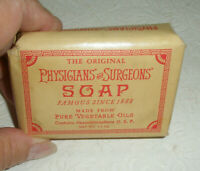 Vintage PHARMACRAFT LABORATORIES Physicians & Surgeons Bar Soap Advertising