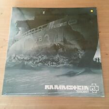 LP Rammstein ROSENROT Limited Yellow 12 Vinyl Sealed RARE & HARD TO FIND neuf