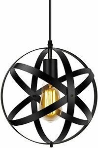 Industrial Metal Pendant Light 11.8'' Farmhouse kitchen Hanging Light Fixtures