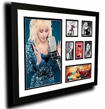 DOLLY PARTON SIGNED LIMITED EDITION FRAMED MEMORABILIA