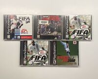 Playstation 1 FIFA 98, 2x FIFA 2000 & ADIDAS Power Soccer & Striker Pro 2000 PS1