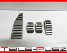 NEU&ORIG Fiat Abarth 500 595 Competizione Alu Pedalerie gebürstet Pedals Set