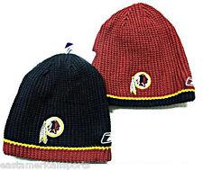 Washington Redskins NFL YOUTH Reebok Reversible Sideline Hat Cap Knit Red Beanie