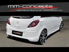 Opel Corsa D Heckschürze Heckansatz Diffusor 2 / 3 Türer OPC Design Spoiler