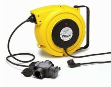 ZECA 4315/GS3 15 MT CABLE REEL RETRACTABLE FOR ELECTRICAL CABLE WINDER
