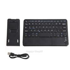 Ultra-Slim Wireless Bluetooth Keyboard w/ Built-in Multi-touch Touchpad Tablet