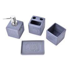 Accessori bagno in ceramica Set Spazzolino da denti titolare Tumbler PORTA SAPONE DISPENSER