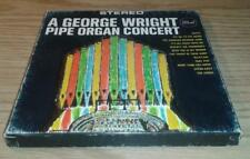 A George Wright Pipe Organ Concert 4 Track Stereo Reel To Reel Tape FREE SHIP