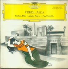 "7"" Svetka Ahlin & Sandor Konya & Paul Schöffler/Verdi Aida (30 602)"