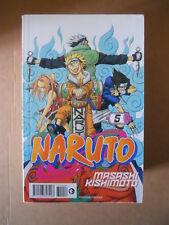 NARUTO n°5 Prima Serie Nera Planet Manga  [G712]