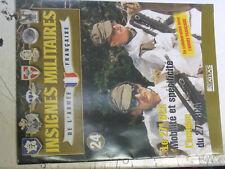 14µ?  Fascicule seul Insignes Militaires France n°24 27e BCA T.Morel Glieres 44