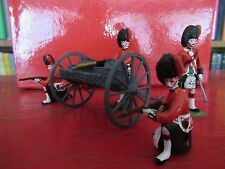 Military model Britains 1/32 Highland Infantry Gatling Gun Crew