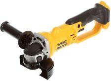 New Dewalt 20 Volt Max 4 1/2 Inch Heavy Duty Angle Grinder (Bare Tool) # DCG412