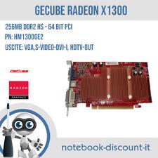 Scheda video GeCube Radeon X1300 HM1300GE2 VGA,DVI,Hdtv-Out HIGH PROFILE 256MB