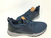 NEW! Skechers Men's RELVEN VELTON Lace Up Shoes Navy #65659 180B tk