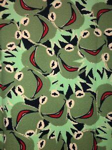 NWT LuLaRoe Disney Muppets Kermit the Frog Cassie Skirt Size 3XL