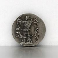 Monete d'argento greche antiche Artemide dea della caccia Regali di raccolta di