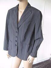 apriori -  tolle Jacke/Blazer   Gr. 44  schwarz mit Streifen