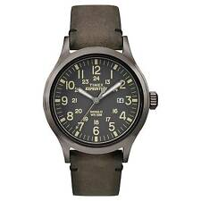 Men's Timex Expedition Scout Leather Strap Watch Tw4b01700