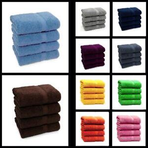 4x Big Bath Towels Bargain Price 100% Pure Cotton Large Bathroom Towels Bale Set