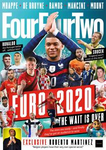 FourFourTwo Magazine - July 2021 # 327 - Euro 2020, Mbappe, De Bruyne, etc - NEW