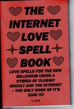 THE INTERNET LOVE SPELL BOOK S. Rob MAGICK MAGIC