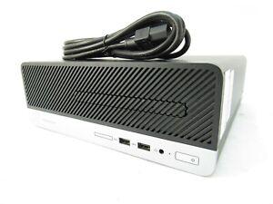 HP ProDesk 400 G4 SFF i7-6700 @ 3.4GHZ 8GB RAM 500GB HDD DVDRW