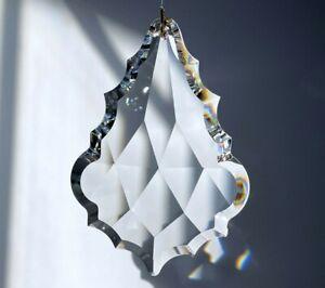 "Swarovski 8290-8901 89mm Arrowhead Austrian Crystal Clear Prism Suncatcher 3.5"""