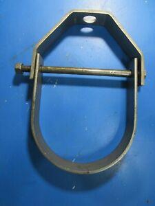 "4"" Pipe Adjustable Clevis Hanger Lot of (10)"