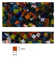 Transparent Stained Glass Supplies Glass Mosaic Tiles For Crafts DIY Mosaic 50g