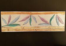 Leaf design  Ceramic Border tile 250x80x8mm