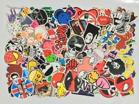 Pack of 500 Snowboard Stickers Vintage Vinyl Guitar Case Decals Dope Sticker MIX