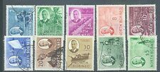 North Borneo 1950 ten values to $2 and £5 used