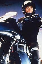 Rex Smith As Jesse Mach In Street Hawk 11x17 Mini Poster Sitting On Bike