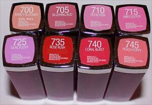Maybelline New York Color Sensational Rebel Bloom Lipsticks Choose Your Shade