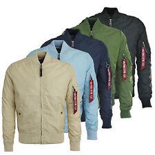 Abrigos y chaquetas de hombre Alpha de nailon