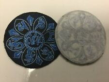 New Sew on OM  Hippie Boho Festival Patches  Made in Nepal  8 cm across