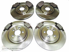 FOR JAGUAR XF 2.2 DIESEL 2011-2014 FRONT AND REAR BRAKE DISCS & PADS SET NEW