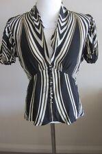 Robert Cavalli authentic silk top, size 42, AUS 8-10, NEW