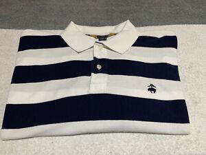 Brooks Brothers 2XL XXL striped polo shirt