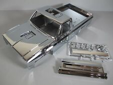 New Rare Tamiya 1/10 RC Chrome Metallic Edition Clodbuster Body +Tailgate+Part G