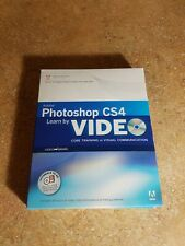 Adobe Photoshop CS4 - DVD AND TRAINING BOOK (SEE PHOTOS)