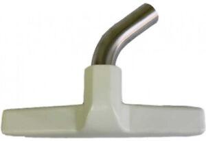 Eureka Generic Fits: All Floor Brush, Metal Curved Swivel Elbow, Horsehair Brist