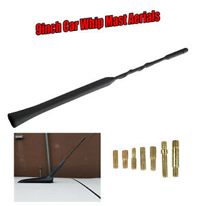 Compatibility For Nissan 350Z Pathfinder Patrol Car Whip Aerials Roof Antenna 9'