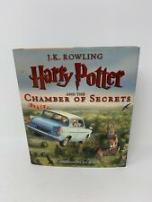 Harry Potter and the Chamber of Secrets Illustrated Edition by Rowling (Hardback